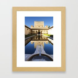 Nazrid Palace Framed Art Print