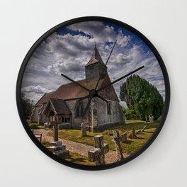 St Bartholomew Chalvington Wall Clock