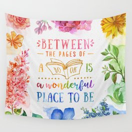 Between the pages Wall Tapestry