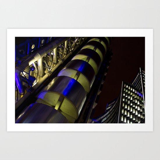 Lloyds of London Art Print