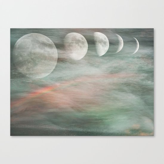 On Moonlight and Rainbows Canvas Print