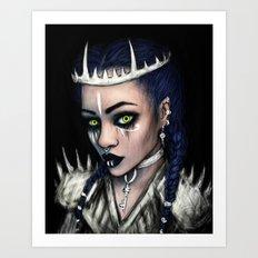 Vampire's Gaze Art Print