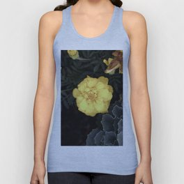 The Soft Yellow Flower (Vintage) Unisex Tank Top
