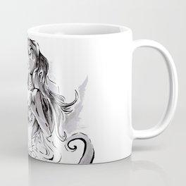 Poor Unfortunate Soul Inktober Drawing Coffee Mug