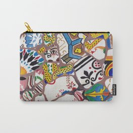 Gaudi tiles Barcelona Carry-All Pouch