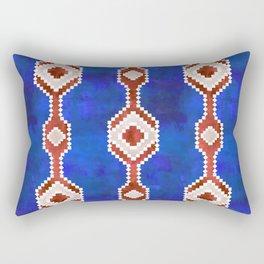 Boho Basic Eye {RWB} Rectangular Pillow