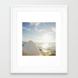 Surfboard Framed Art Print