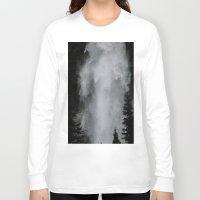 wonderland Long Sleeve T-shirts featuring Wonderland by GretchenAnn