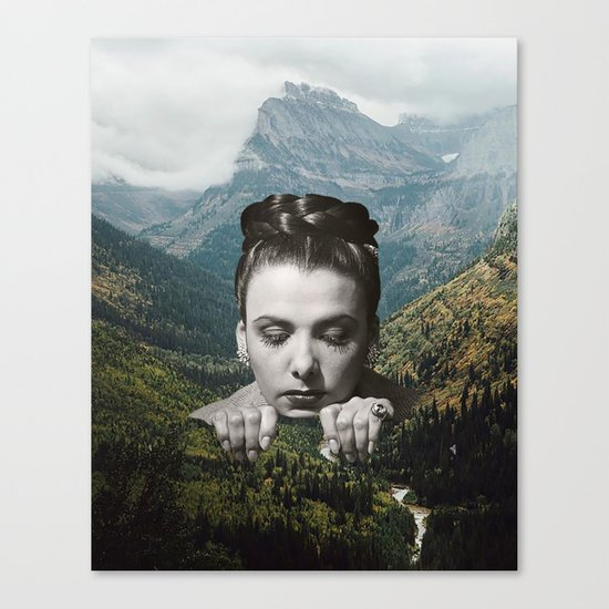 Valley Girl Canvas Print