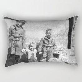 Die Geschwister Rectangular Pillow