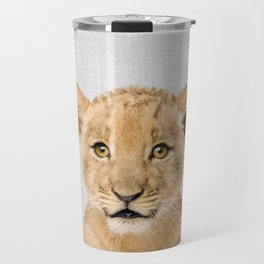 Baby Lion - Colorful Travel Mug