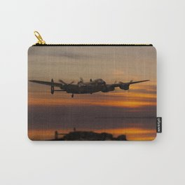 Lancaster Bomber Landfall Carry-All Pouch