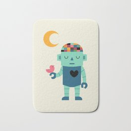 Robot Dreams Bath Mat