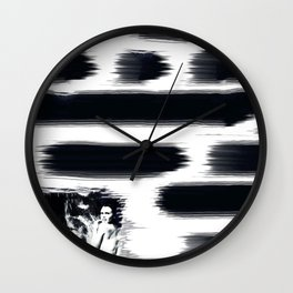 Hidden in the Madness Wall Clock