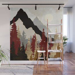 Autumn Trees Wall Mural