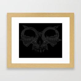 Death's Illusion Framed Art Print