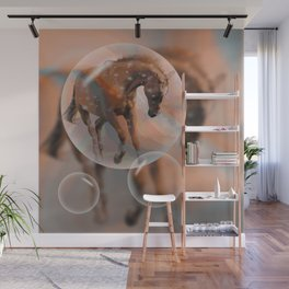 ... dreaming of a horse Wall Mural