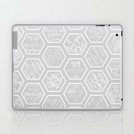 Gilmore Girls Inspired Quotes- Geometric Print Laptop & iPad Skin