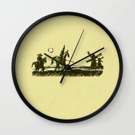 don quixote   Wall Clock