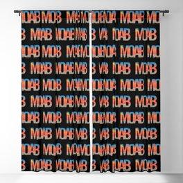 Moab Utah Scenic Typography Blackout Curtain