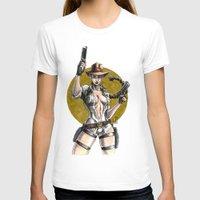 lara croft T-shirts featuring Lara Croft Indy by Juan Pablo Cortes