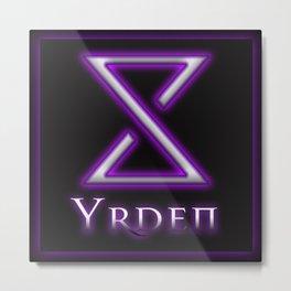 Yrden Metal Print