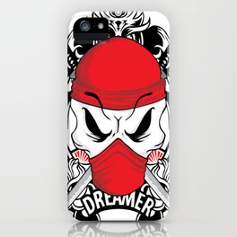 Ltd Edition: pirate skull art iPhone Case