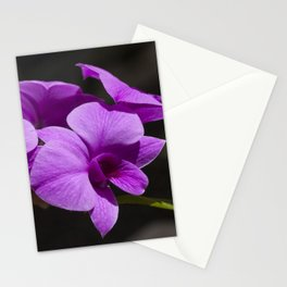 Orchid purple Stationery Cards