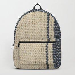 Vintage French Farmhouse Grain Sack Backpack
