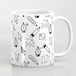 Illustrator Tools Coffee Mug