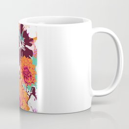 Croc Floral Coffee Mug