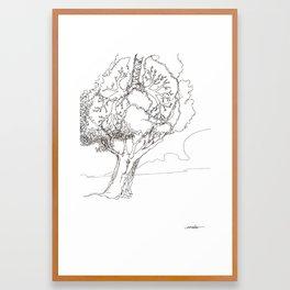 Let It Be Like Breathing Framed Art Print