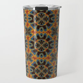 Tapestry pattern Travel Mug