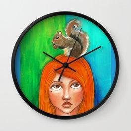 Aw, Nuts! Wall Clock