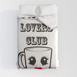 Coffee lovers Club Comforters