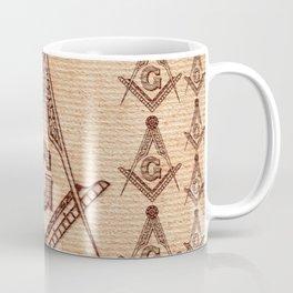 Freemason Symbolism Coffee Mug