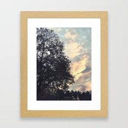 Emptiness Dancing Framed Art Print
