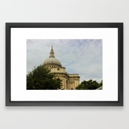 Saint Paul's Cathedral  Framed Art Print