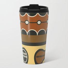 African Tribal Pattern No. 83 Travel Mug