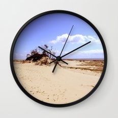 dust in the wind Wall Clock