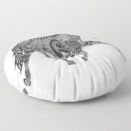 Paisley Pace Floor Pillow