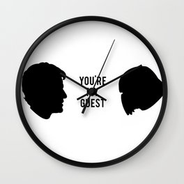 Don't Fly Solo, Fly with Poe (Ship It) Wall Clock