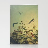 freedom Stationery Cards featuring Freedom by Victoria Herrera