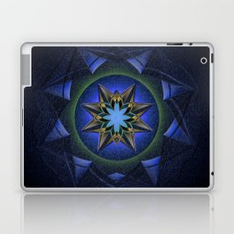 Ninefold Star Medallion Mandala Laptop & iPad Skin