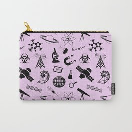 Science on Pink Carry-All Pouch