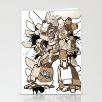 gundam Stationery Cards featuring Gundam Style by RiskeOne opc