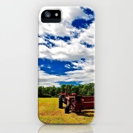 at the end of summer iPhone Case