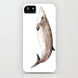 Beaked whale iPhone Case