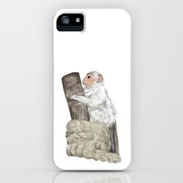 Marmoset Monkey iPhone Case