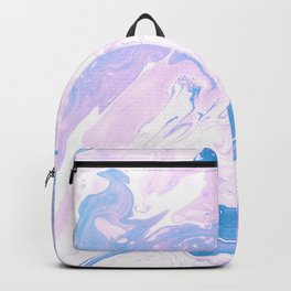 Pink Marble Backpack